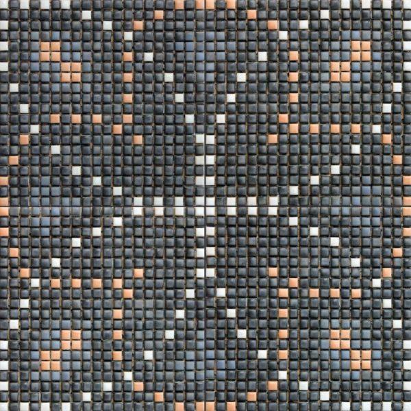 Keramik mosaik mönster