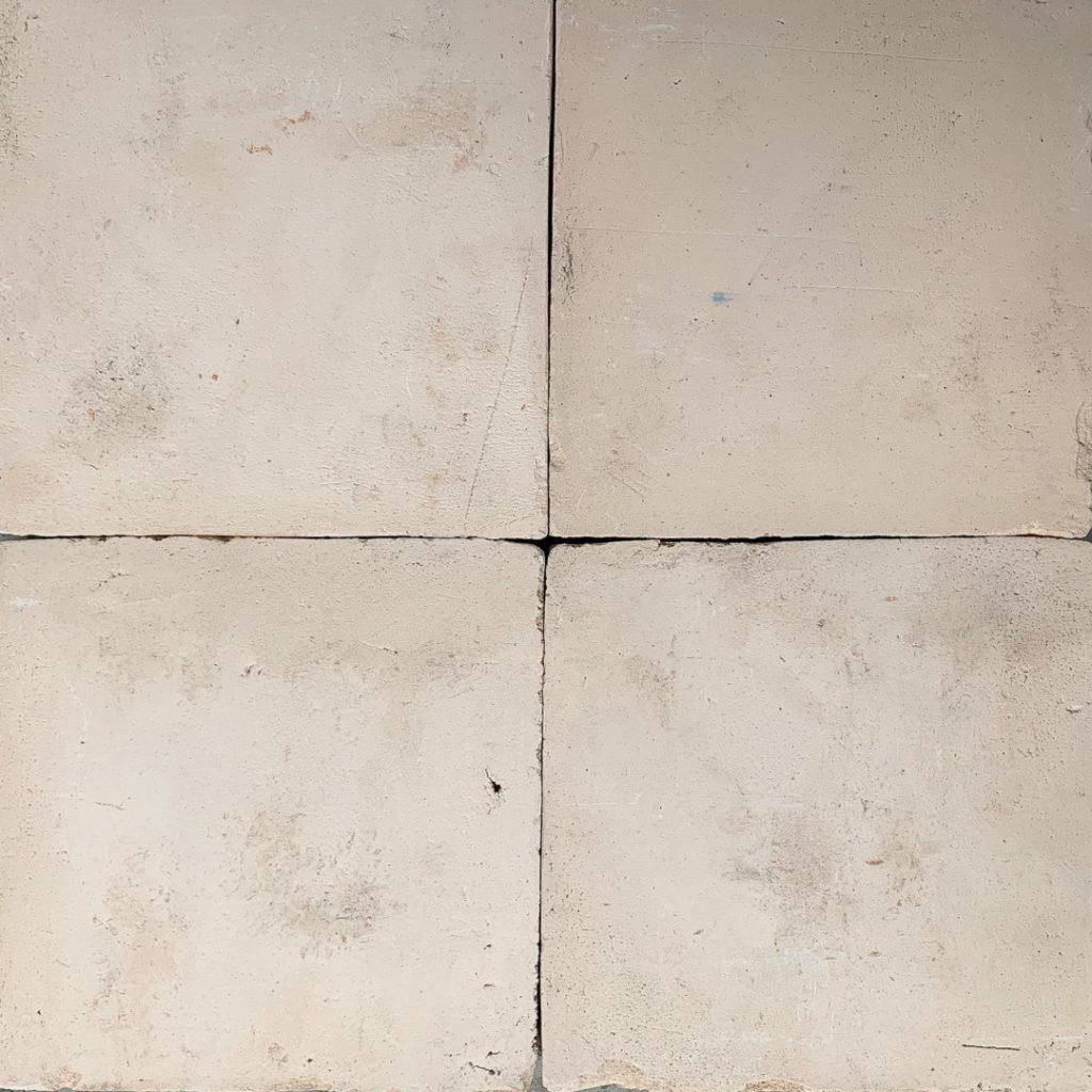 Tegel av vit lera