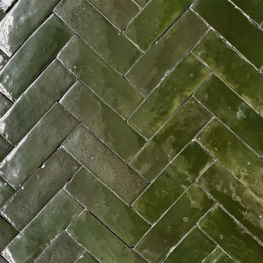 Zellige Forest green