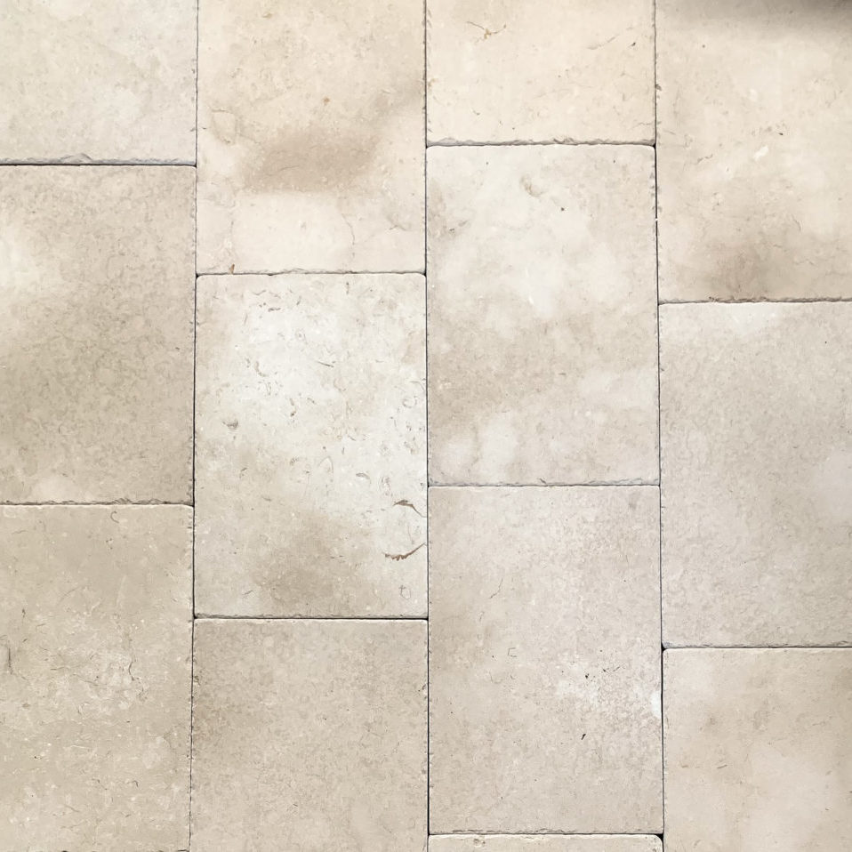 Cream Antiqued Limestone