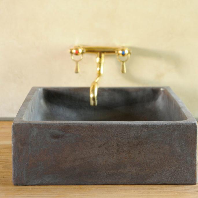 Exlusivt handfat lera keramik Stiltje
